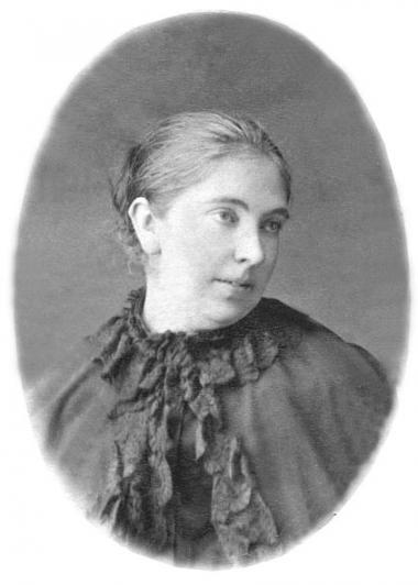 E.N. Khlebnikova, the poet's mother. <br>From the family photo book