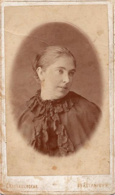 E.N. Verbytskaya, poet's mother