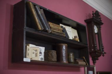 A fragment of the Khlebnikovs' family library