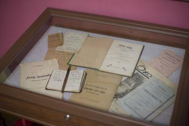 The personal belongings of V.A. Khlebnikov, the Poet's father